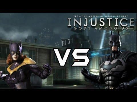 Injustice Gods Among Us - Batgirl Vs Bat Family with Lore & Skins