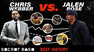 "Chris Webber's ongoing beef with Jalen Rose has kept Michigan's legendary ""Fab Five"" from reuniting"
