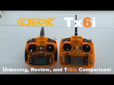 OrangeRX Tx6i Unboxing. Review & T-Six Comparison!