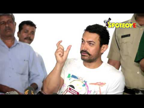Aamir Khan 51st Birthday Press Conference | Happy Birthday Aamir | SpotboyE