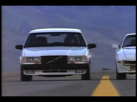 Volvo 740 Turbo Intercooler Wagon Ad (1987) - To A Radar Gun They Look Exactly Alike - YouTube