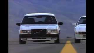Volvo 740 Turbo Intercooler Wagon Ad (1987) -  To A Radar Gun They Look Exactly Alike