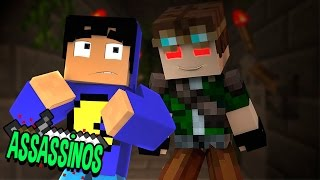 Minecraft: CELLBIT É UM ASSASSINO?! (Assassinos)