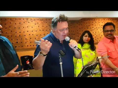 Rishi Kapoor singing Main Shayar toh Nahi |Movie :Bobby|Show Rehearsal |By The Rotary Foundation|