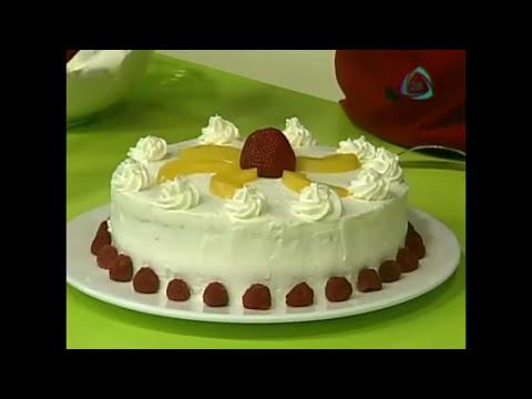 Pastel de tres leches con fruta / receta de pasteles