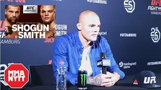 ANTHONY SMITH POST FIGHT UFC HAMBURG
