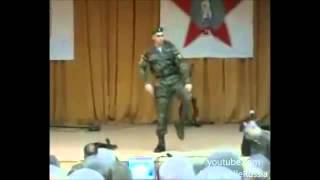 Electro dance soldier Russian Army