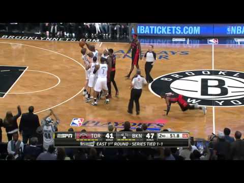 Toronto Raptors vs Brooklyn Nets Game 3 | April 25, 2014 | NBA Playoffs 2014