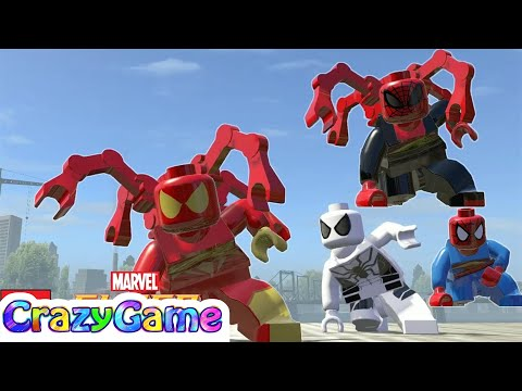 LEGO Marvel Super Heroes - All Spider-Man Characters (Unlocking & MOD)