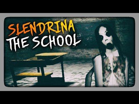 ШКОЛА СЛЕНДРИНЫ! ✅ Slendrina: The School Прохождение