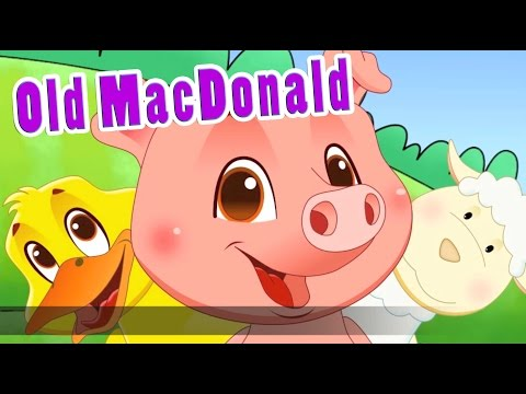 Old Macdonald Had A Farm Eieio In Hd With Lyrics By Eflashapps video