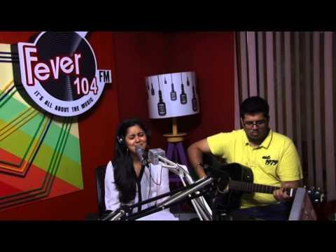 Uff unplgged with Harshdeep Kaur at Fever 104 FM studios