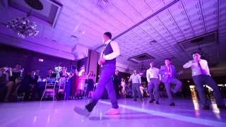 Best Surprise dance performance from the groom and his groomsmen- Nathan & Angelica