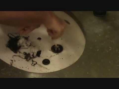 Unclogging a sink....'tip'