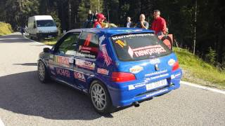 Sound Peugeot 106 Gr. A  by Chemin 34° Rally San Martino di Castrozza 2014