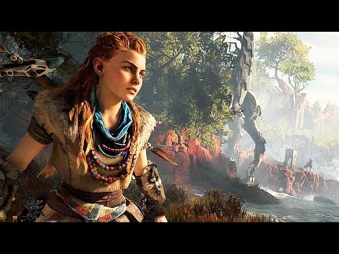 PS4 - Horizon Zero Dawn Gameplay Trailer (E3 2016)