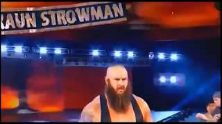 wwe today live 25/09/17  fight between Roman Reign and brown strowman || wwe best ever fight today