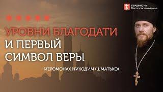 2020.04.19 Первый Символ веры.Заповеди блаженства и Благодать #проповедь иеромонах Никодим (Шматько)