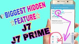 Samsung galaxy j7 / j7 prime /j76 mobile's tips & tricks /biggest hidden features ...