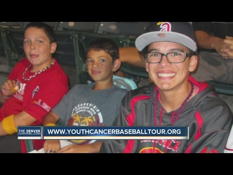 Group raising money to send cancer kids to baseball games