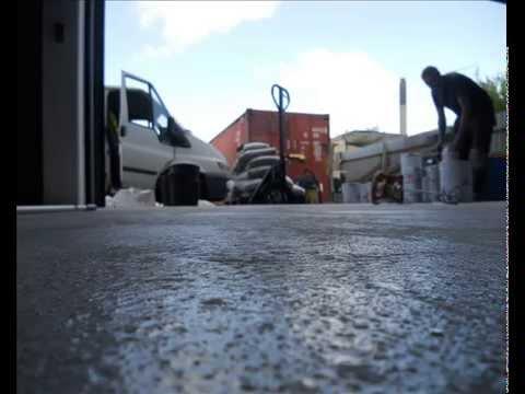 Maling af garagegulv