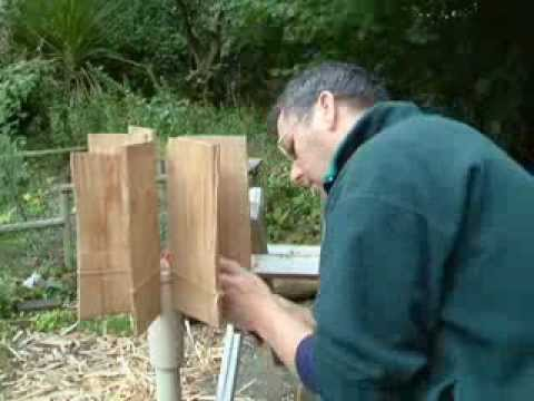 Making a Shingle lamp