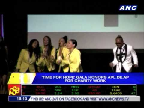 Apl.de.Ap honored in US for charity work