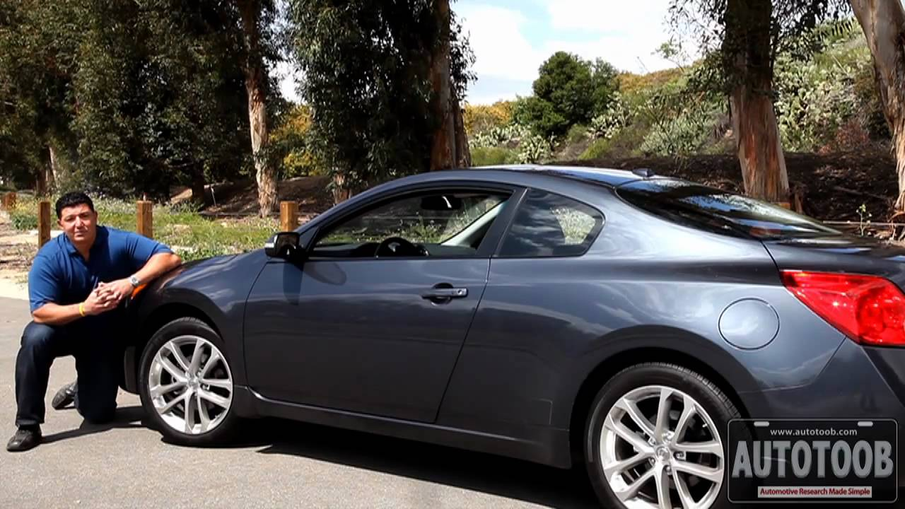 2010 Nissan Altima Coupe Review Youtube
