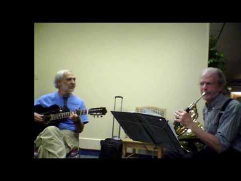 Dennis Sobin (Guitar) and Gary Vagnette (French Horn) perform the song