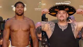 ANTHONY JOSHUA VS ANDY RUIZ 2: ABSOLUTELY SHOCKING WEIGH-IN! (YB REACTS)