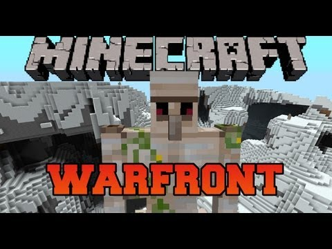 Minecraft Mod Showcase - WarFront Mod - Mod Review