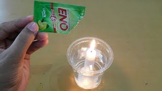 ENO Water Fire Candle Science Experiments