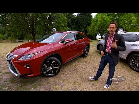 2016 Lexus RX350 & RX450h Hybrid PREVIEW & Lexus RX Tech Review