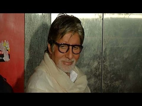 Amitabh Bachchan At The Screening Of Bombay To Goa video