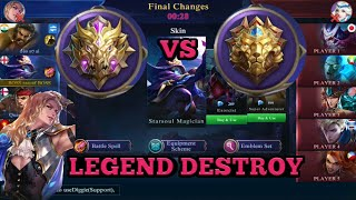 MYTHIC VS LEGEND | MOBILE LEGEND BEST PLAY | SOLO Q TO MYTHIC