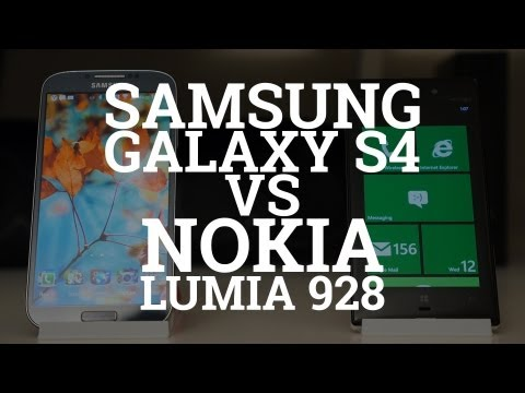Samsung Galaxy S4 vs Nokia Lumia 928