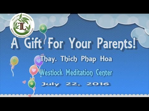 A Gift For Your Parents!