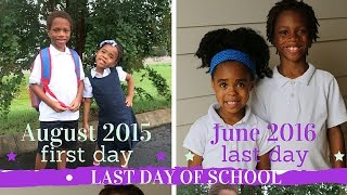 LAST DAY OF SCHOOL vlog June 2, 2016