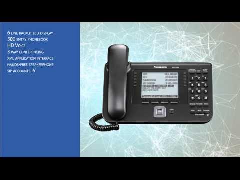 Panasonic KX-UT248 IP Business Telephone