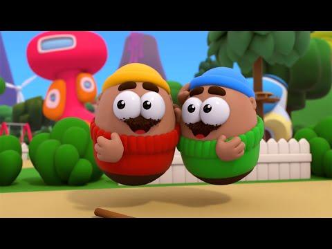 """Мультсериал для детей """"Пузыри"""" (Баблс) - Дядюшка Теодор (24 серия)"""