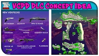"Awesome Vice City ""VCPD"" DLC Concept Idea for GTA 5 Online! (New Map, Guns & Game Modes!) [GTA V]"