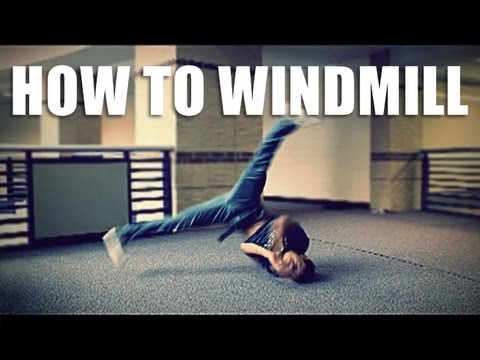 How To Breakdance: Windmill Tutorial | Clockwise video