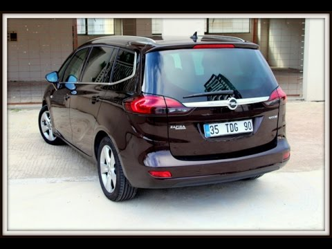 test opel zafira tourer 1 6 cdti youtube. Black Bedroom Furniture Sets. Home Design Ideas