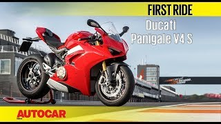 Ducati Panigale V4 S | First Ride | Autocar India