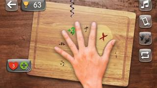 knife hand #challenge 1 gameplay (android & ios)