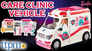 Barbie Care Clinic Vehicle and Playset [REVIEW]   Mattel Toys & Games
