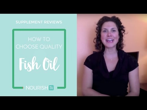 How to choose a good quality Fish Oil? 4 things the label MUST say!