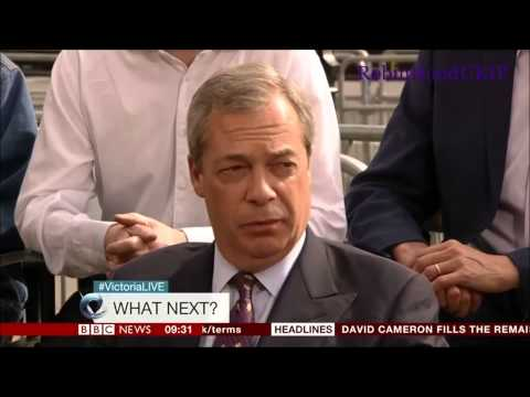 Nigel Farage and UKIP voters set everyone straight