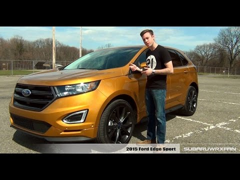 Review: 2015 Ford Edge Sport