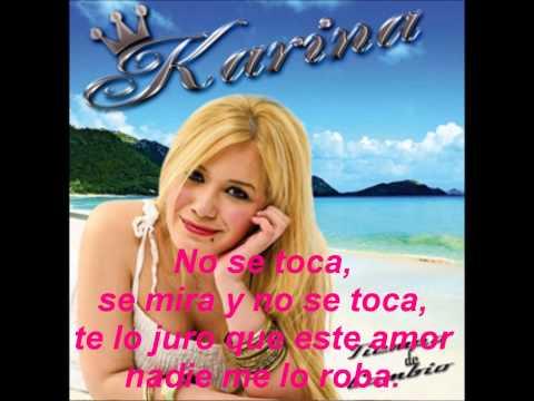 Karina - No se toca (Letra)